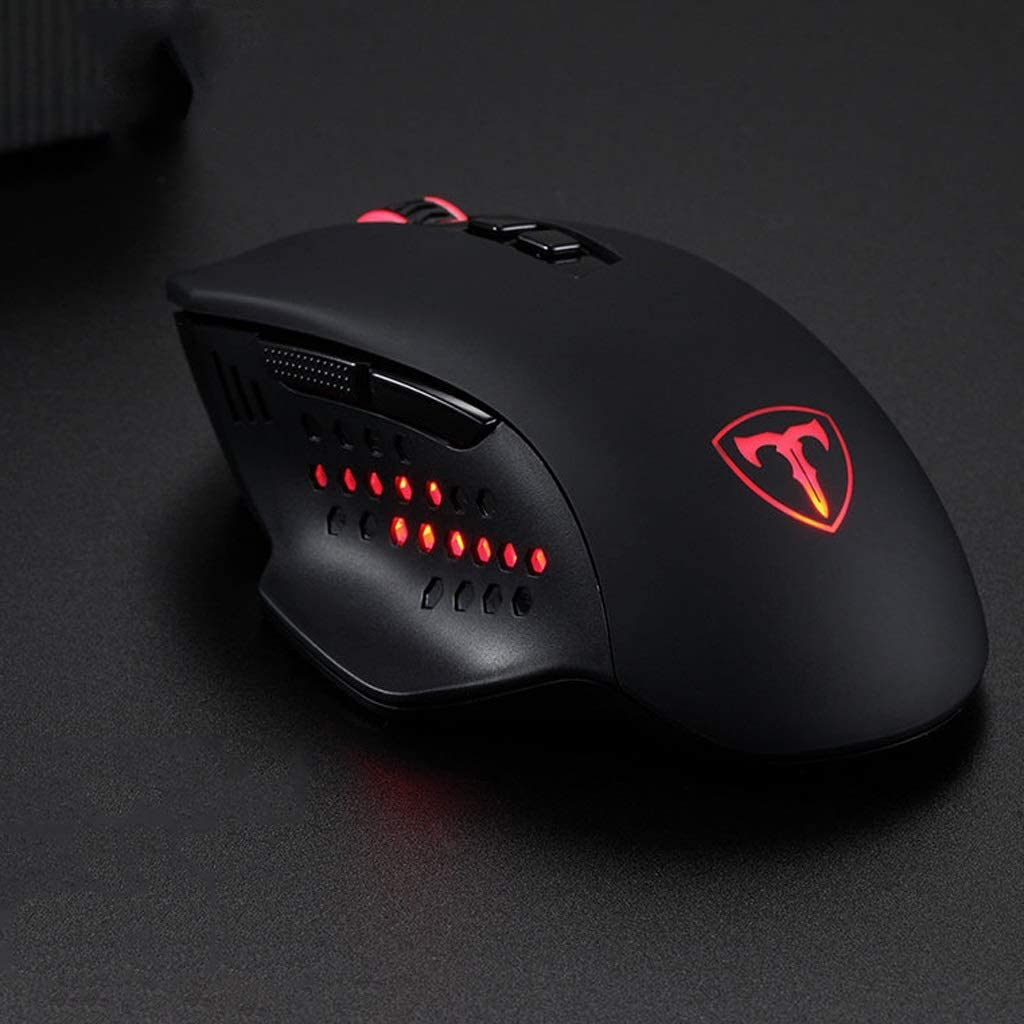Shu Jian Black Mouse L130mm /× W74mm /× H35mm ka Suitable for PC//Tablet//Laptop USB Port Feels Comfortable Computer Mouse Mute and Smooth