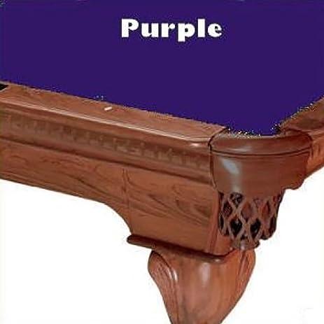High Quality 7u0027 Purple ProLine Classic 303 Teflon Billiard Pool Table Cloth Felt