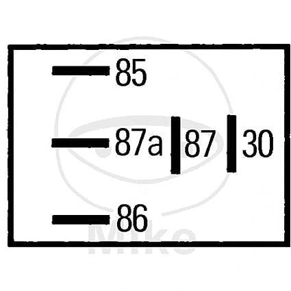HELLA 4RD 965 453-041 Relé, intervalo del limpiaparabrisas, 12V, con ...
