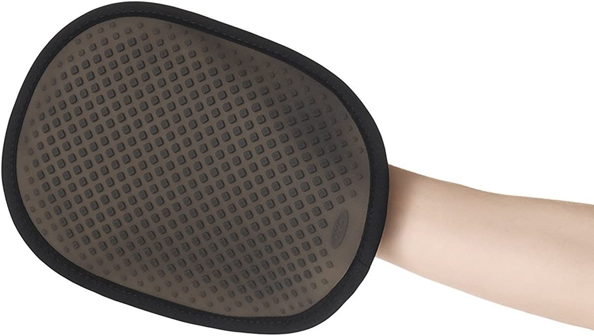 OXO Good Grips Silicone Pot Holder - Black: Kitchen & Dining