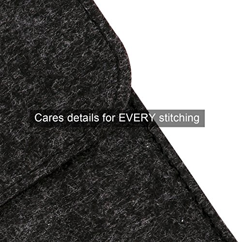 "WALNEW Soft Sleeve for 6"" Kindle-Sleeve Bag for Kindle 2019/ Kindle 4/5/Kindle Touch/Kindle Paperwhite/Kindle Paperwhite 10th/Kindle Voyage Protective Pouch,Black"