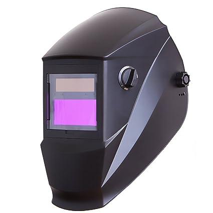 ulable cambio automático de luz soldadura máscara Head-Mounted Solar Argon Arc soldadura gas soldadores