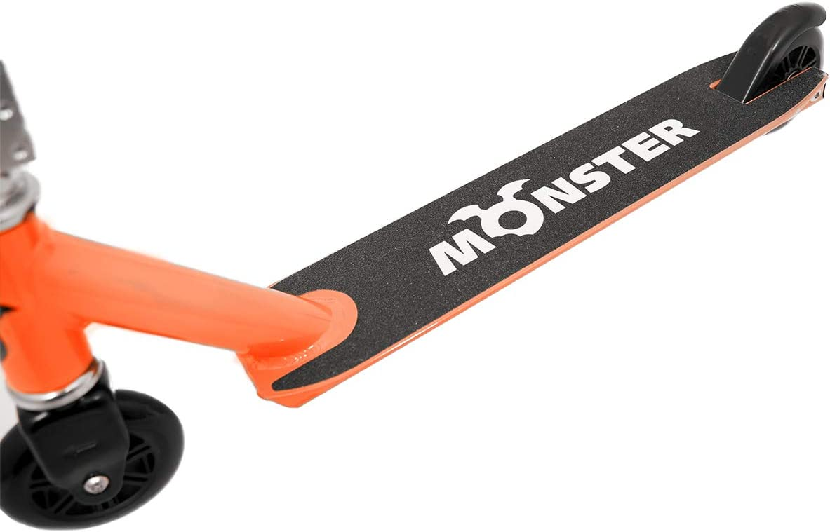 Charles Bentley Monster Lightweight Pro Stunt Scooter with Rubber - 2