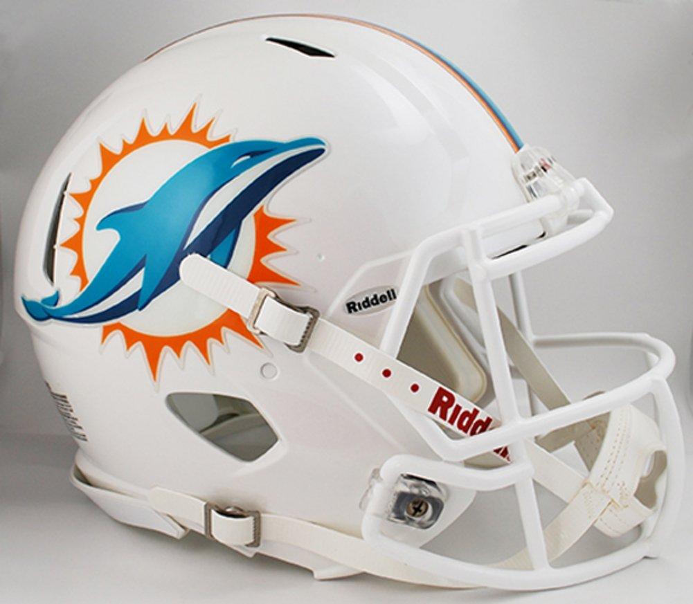amazon com nfl miami dolphins speed mini helmet sports related