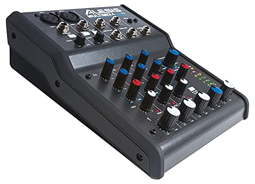 Alesis, 4, Four-Channel USB Audio Mixer