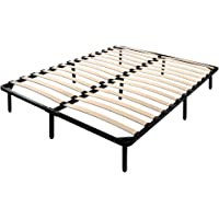 Artiss Metal Bed Frames Bentwood Structure Platform Mattress Base Bedrooms