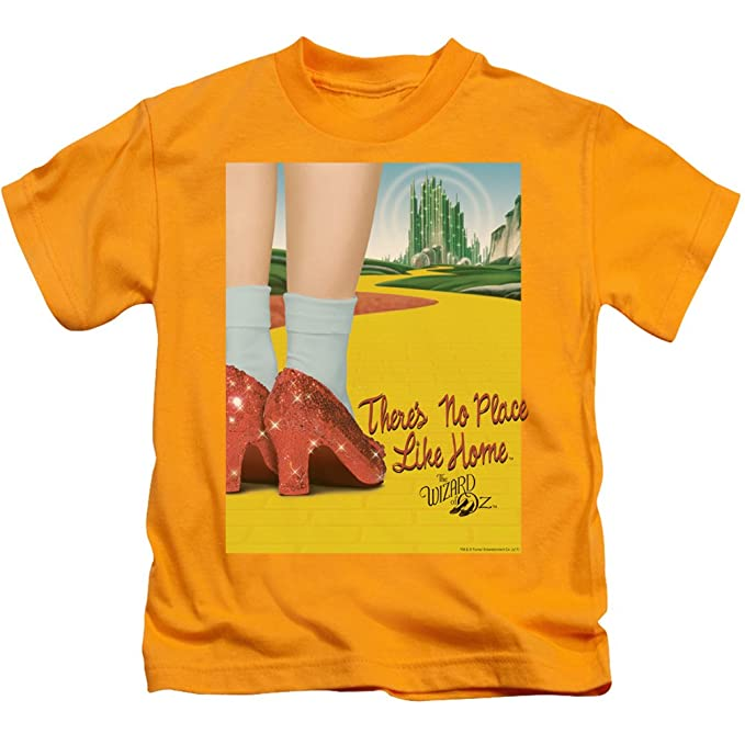 f723edeb1cd45 Amazon.com: A&E Designs Kids The Wizard Of Oz T-Shirt The Way Home ...