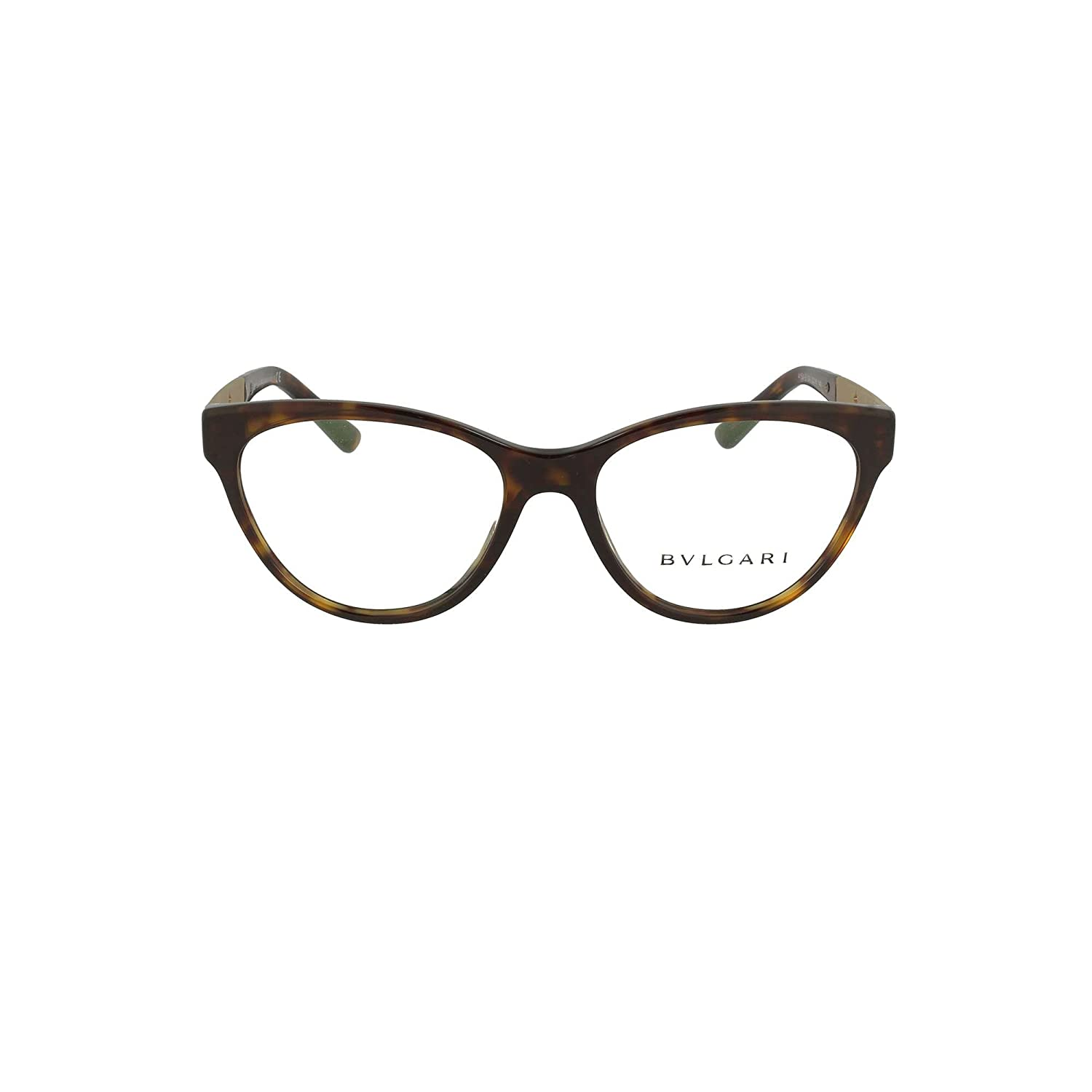 d2391950e66 bvlgari Women s Prescription Eyewear Frame beige Havana One size   Amazon.co.uk  Clothing