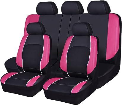 Amazon Com Horse Kingdom Universal Car Seat Covers Faux Leather