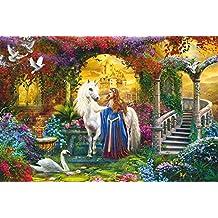 SCHMIDT Childrens Puzzle-In The Fairy Garden-2000 Pieces