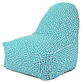 Majestic Home Goods Pacific Towers Kick-It Chair - 85907227081
