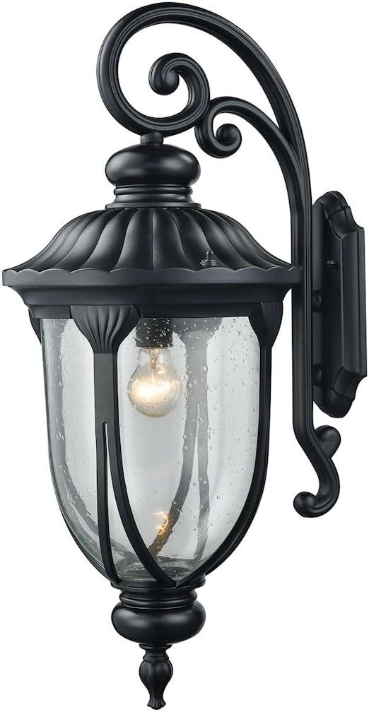 Elk Lighting 87102 1 Wall Sconces Black