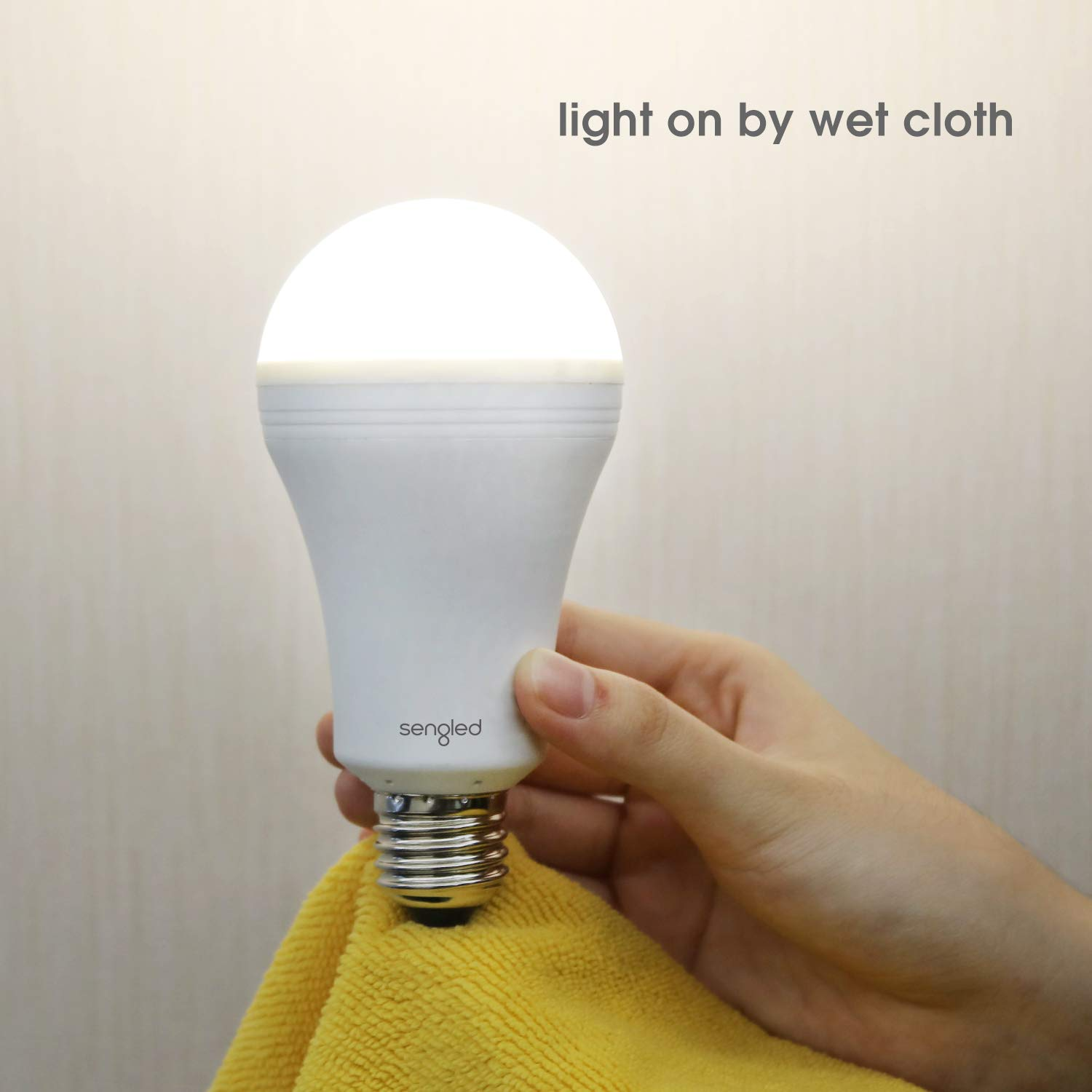 sengled led emergency light bulb with built in rechargeable battery