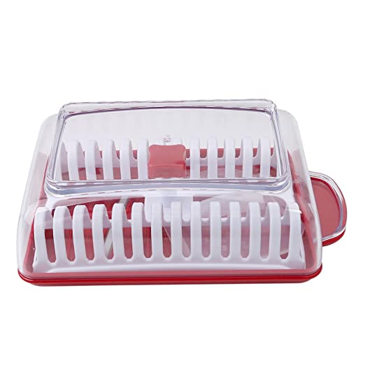 HS microondas de patatas Chip cortador eléctrica de cocina ...