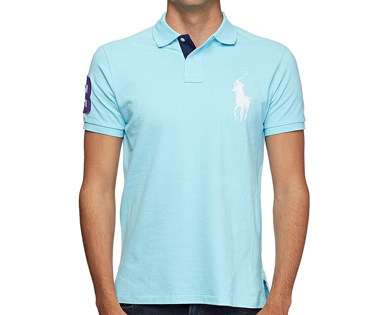 Polo Ralph Lauren - Polo - para Hombre Azul Claro M: Amazon.es ...