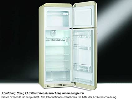 Smeg FAB30RB1 Independiente 293L A++ Blanco nevera y congelador ...