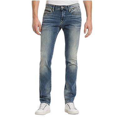 Tommy Hilfiger Slim Scanton Jeans Homme Bleu Taille 29  Amazon.fr ... ef2e6f2fafa1