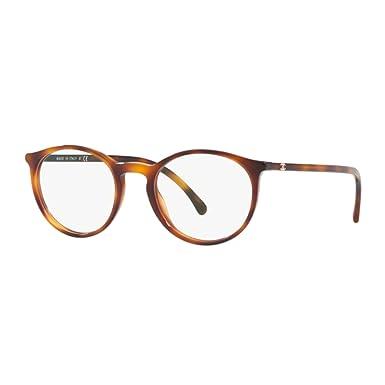 Chanel - Monture de lunettes - Femme Beige Havana 48  Amazon.fr ... 26c88f836a9d