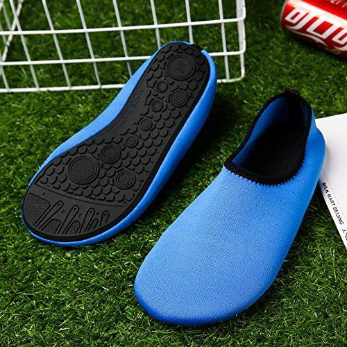 8 aire puro deportes verde descalzo zapatos SK de transpirable zapatillas Lucdespo zapatos Natación libre al rojo xwHvqX06n