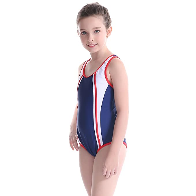 4954c69caaf6c Image Unavailable. Image not available for. Color: TenMet Girl's Training  Professional Competition Sun Protection Swimsuit ...