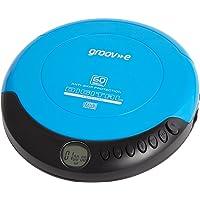 Groov-e GVPS110BE Retro Series Personal CD Player - Blue