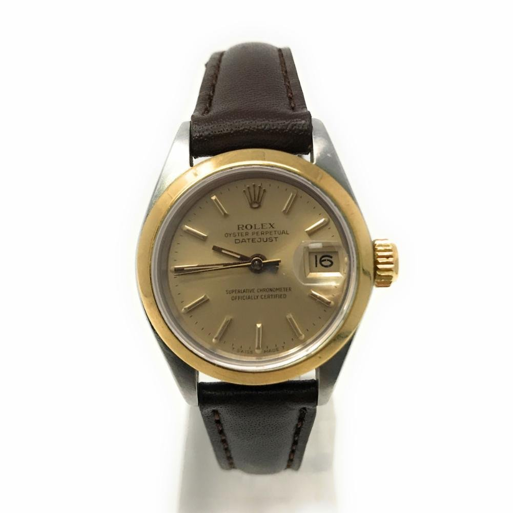 Rolex Datejust swiss-automatic womens Watch 6916 (Certified Pre-owned)