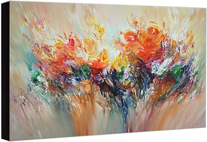 Pintura Al óLeo Pintada A Mano Cuadros Abstractos Modernos Sobre Lienzo Arte Sala De Estar Dormitorio DecoracióN Para El Hogar 60×90cm