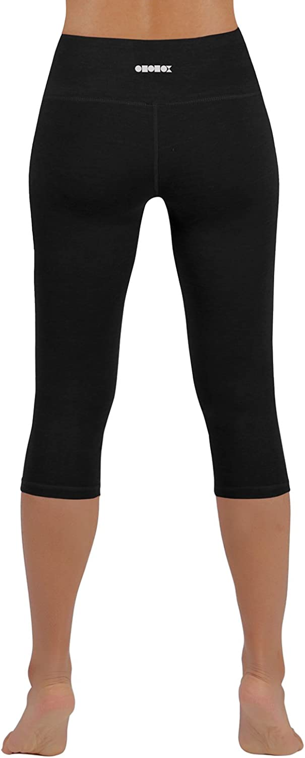 Amazon.com: Pantalones capris ODODOS Power Flex Yoga control ...