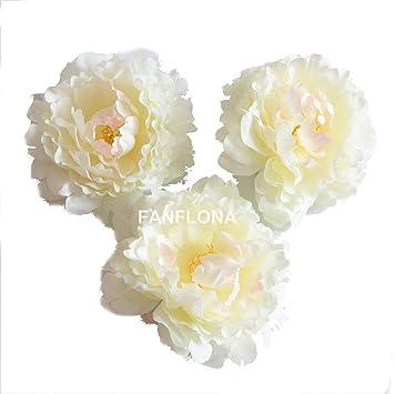 Amazon Fanflona Wholesale Silk Flowers Artificial Peony Flower