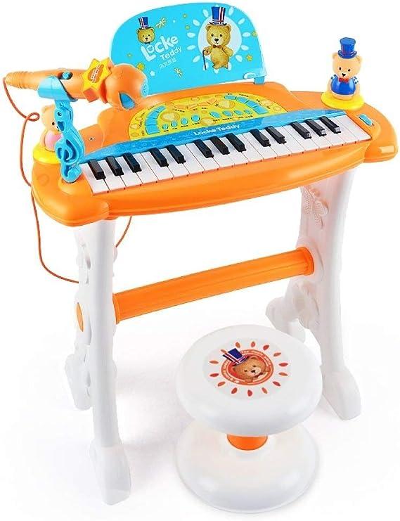 Juguete de piano electrónico, AR Teclado multifunción de 32 ...