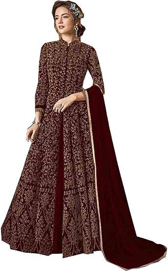 Anarkali party wear Gown designer Shalwar Suit pakistani Indian ethnic gown