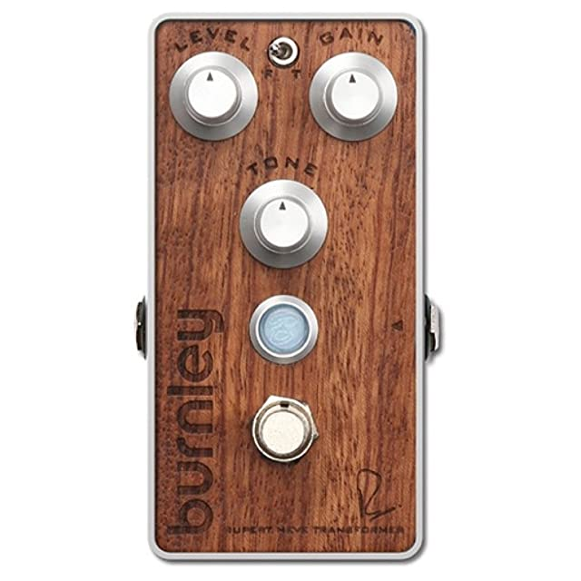 エフェクター画像 Bogner burnley Bubinga exotic hardwood top panel