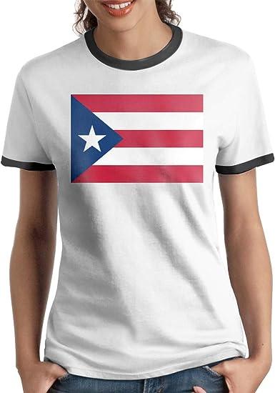 Queen Elena Puerto-Flag, Playera de algodón de Color ...