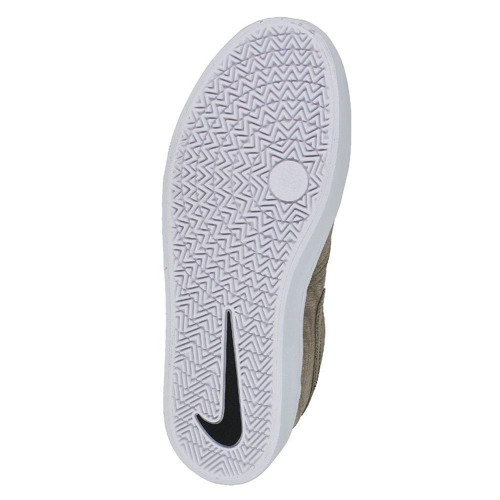 a6d477a9050ba Amazon.com | NIKE Mens SB Check Solar CNVS PRM Khaki White Black Size 10.5  | Fashion Sneakers