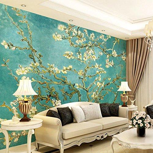 HUANGYAHUI Una grande pittura murale di Van Gogh perfetta ...