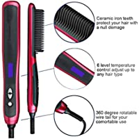 Dedeka Quick Beard Straightener Styler Multifuncional para Hombres