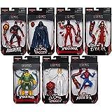 Amazing Spider-Man Marvel Legends Wave 8 Action Figures Set of 7 (SP//dr BAF)