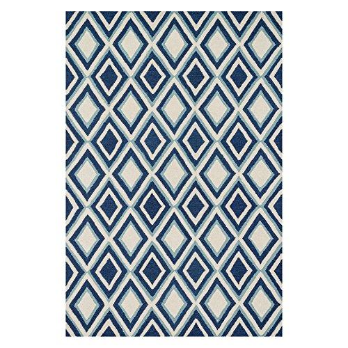 Loloi WESTON Area Rug, 2 -3 x 3 -9 , Ivory Blue