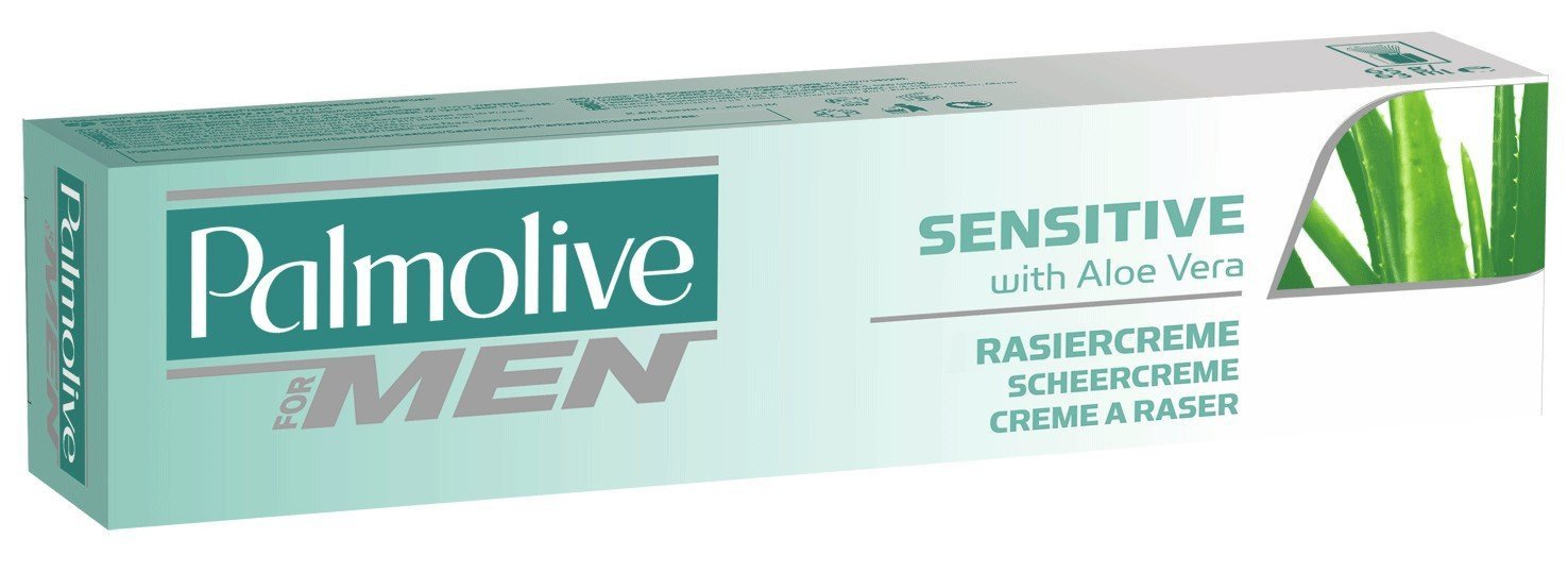 Palmolive for Men Sensitive Shave cream with Aloe Vera 100ml by palmolive