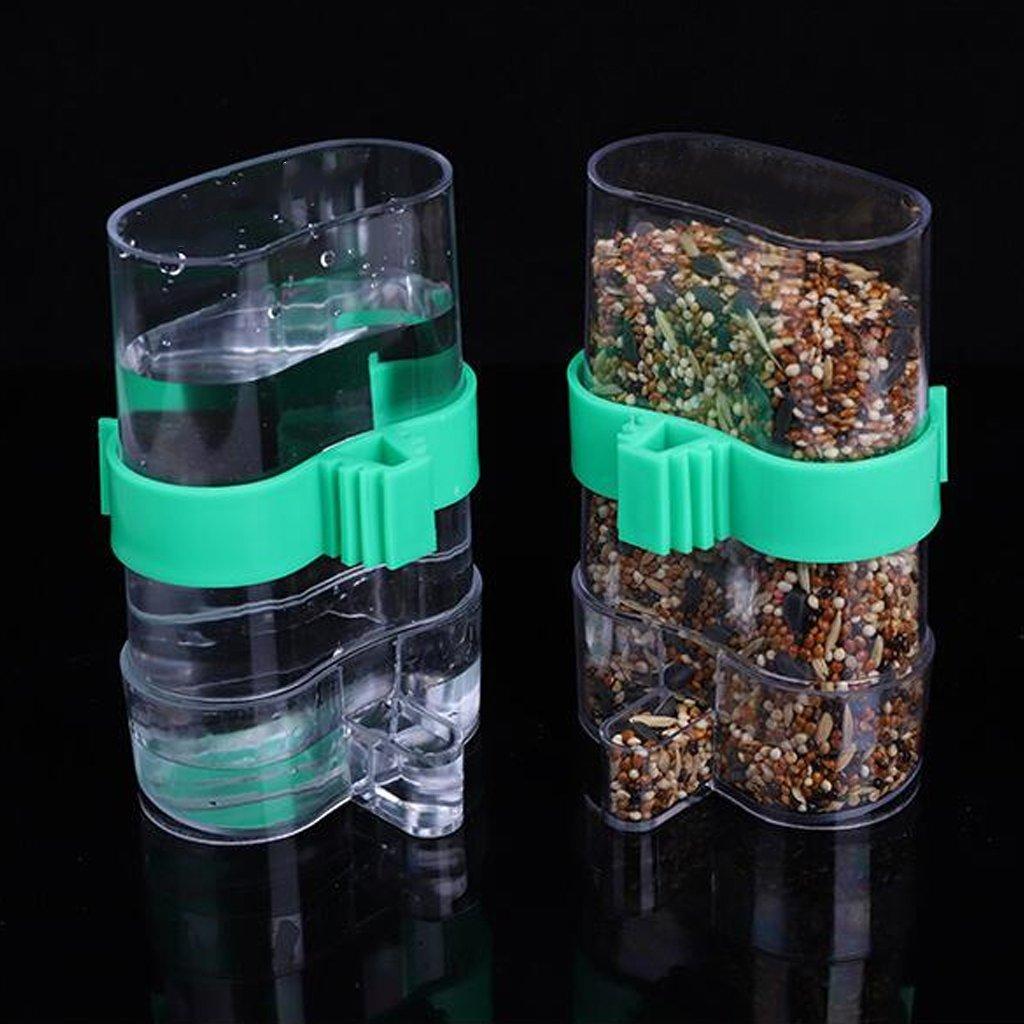 Jaula dispensadora de agua y alimento automático para bebedero de ...