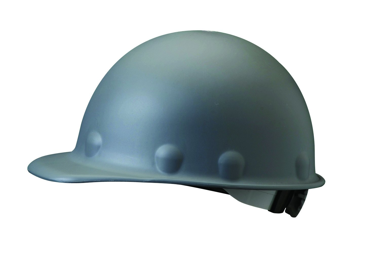 Fibre-Metal by Honeywell P2ARW09A000 Super Eight Ratchet Fiber Glass Cap Style Hard Hat, Grey by Honeywell
