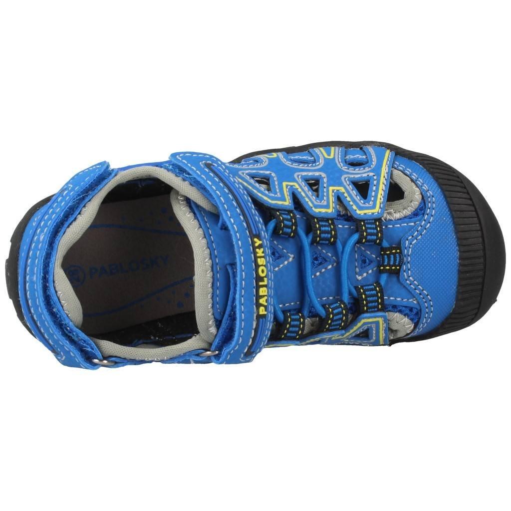 En Pablosky De 32 Microfibra Con Sandalias Niño Azul Velcros cKTFl1J3