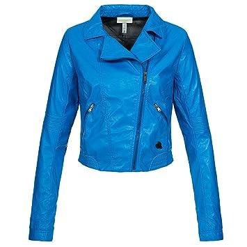 adidas NEO Damen ST Jacket Jacke blau Z49582: Amazon.de: Sport ...