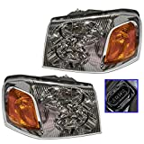 09 gmc headlights - Headlights Headlamps Left & Right Pair Set for GMC Envoy