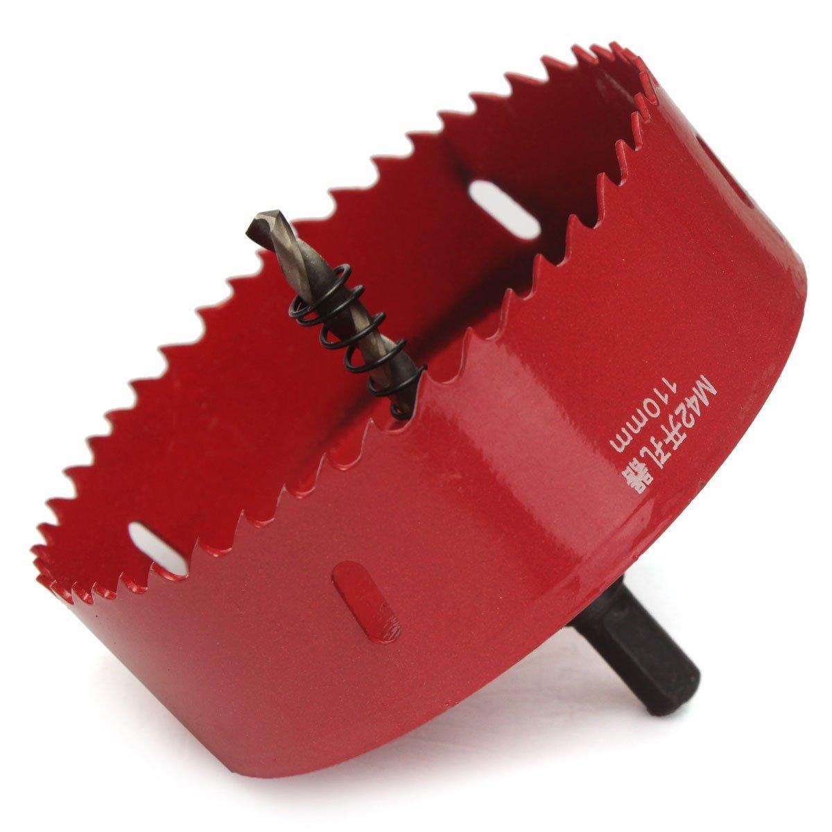 Punta bimetallica 170 mm Ferro 110-200 mm 180 mm HSS Legno Sega a Tazza per Alluminio Terrarum M42