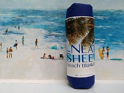 Amazon.com: The Neat Sheet - Manta de playa (57 x 77), rollo ...