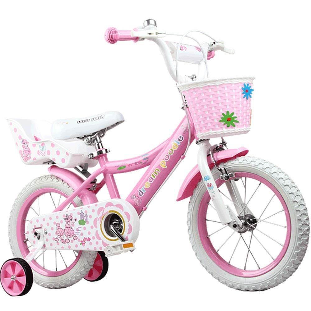 popular Axdwfd Infantiles Bicicletas Bicicletas for niños niños niños for niñas de 2 a 8 años, 12 14 16 Pulgadas con Bicicletas de Entrenamiento 16in  Precio por piso