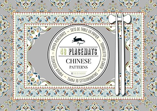Chinese Patterns: Placemat Pad