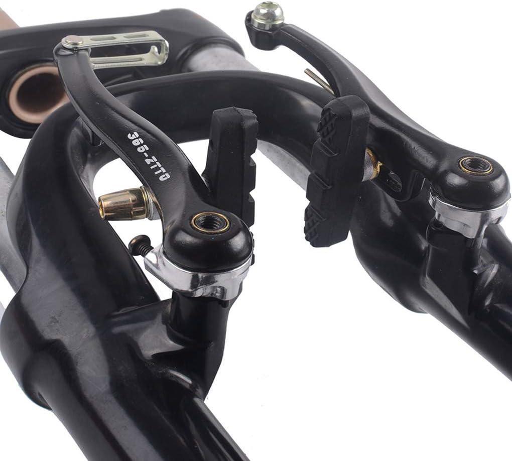 heacker Mountain Bike MTB Linear Pull in Lega di Alluminio V Pinza Freno e pastiglie dei Freni Set Accessori Biciclette
