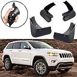 mud flaps for jeep cherokee - SPEEDLONG 4Pcs Car Mud Flaps Splash Guard Fender Mudguard for Jeep Grand Cherokee 2011-2018
